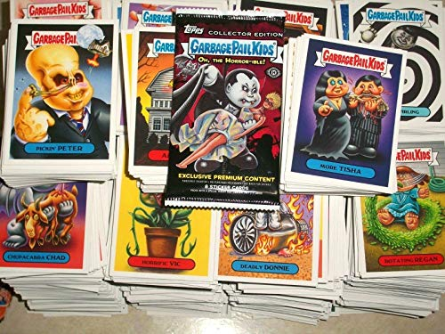 Garbage Stickers Pail (2018 Garbage Pail Kids The Horror-IBLE Series Lot of Thirty Different Stickers.)
