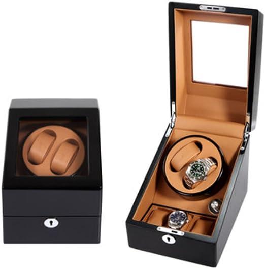 L-life Cajas giratorias Reloj Winder automático Caja de Reloj Caja de Reloj Reloj Cadena Caja de Reloj automático. (Color : 3): Amazon.es: Hogar