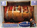 Disney Ratatouille Remy in Barrel with Pullback action