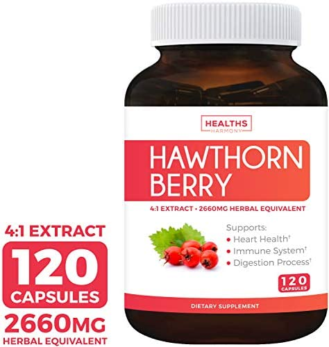 Hawthorn Berry Circulation Antioxidant Supplement