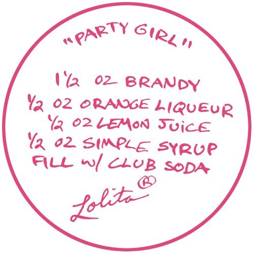 Santa Barbara Design Studio GLS4-5522B Lolita Love My Martini Glass, Party Girl