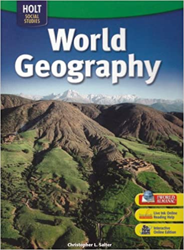 Holt world geography student edition grades 6 8 2007 rinehart holt world geography student edition grades 6 8 2007 rinehart and winston holt 9780030412271 amazon books fandeluxe Gallery