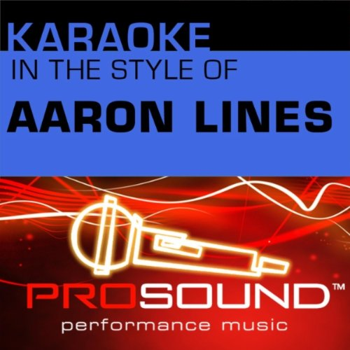 You Can't Hide Beautiful (Karaoke With Background Vocals)[In the style of Aaron Lines]