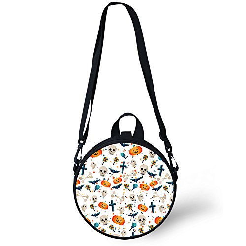 and Stylish for W8ccc4026i Backpack Print Round Round FancyPrint Women Girls Bag Shoulder WCwaRfaq