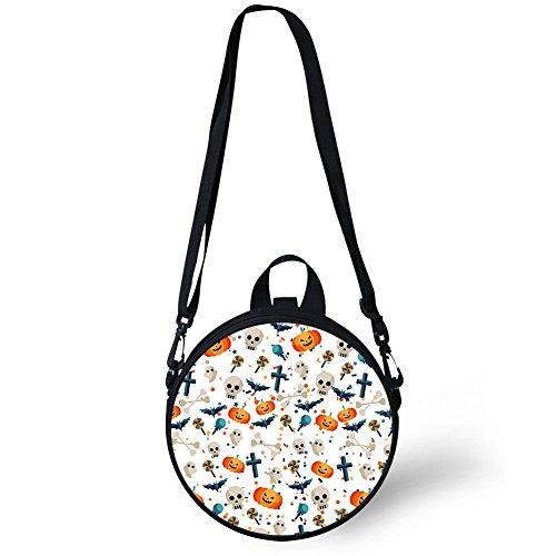 Cute Round Dfgcc4026i FancyPrint Cute Print Handbag Bag Shoulder Round Cwdqadyf