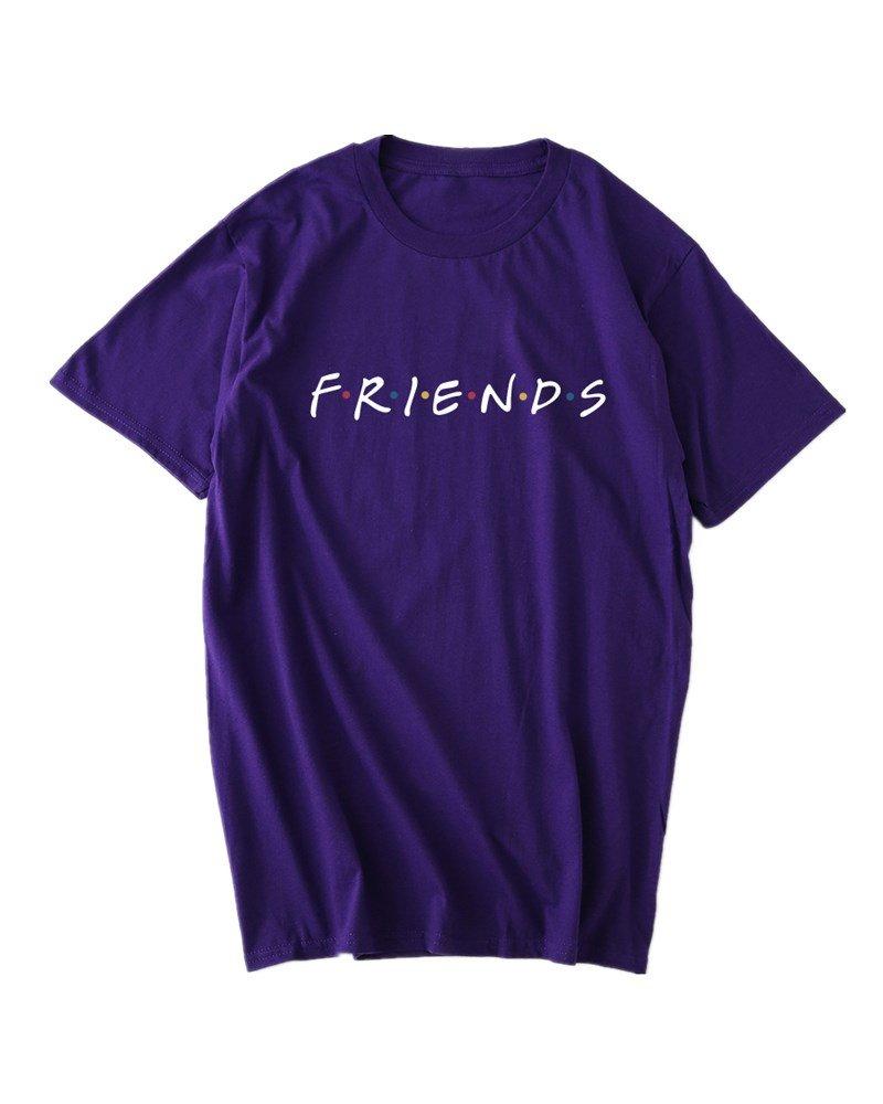 Dutoz Friends Tv Show T Shirts Summer Graphic Shirt Tees 2162