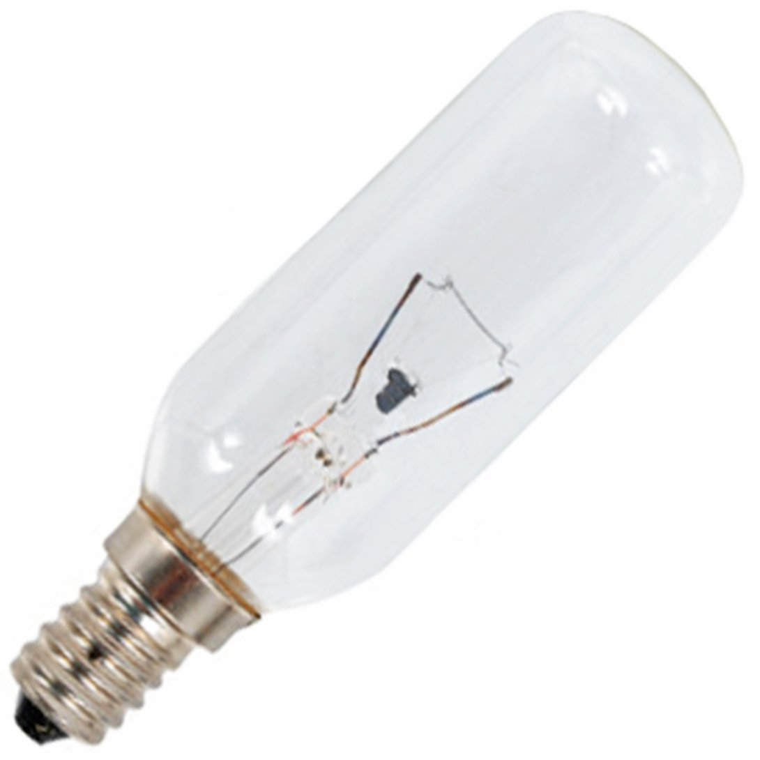SPARES2GO E14 SES Long 40W Lamp Light Bulb for Tricity Bendix Cooker Hood Vent Extractor