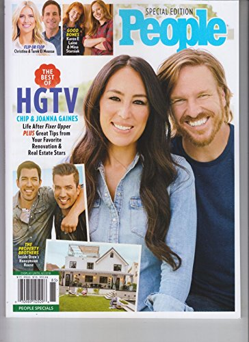 People Special, The Best of HGTV Magazine, (FREE SHIPPING) Chip & Joanna Gaines, (Order Magazine)