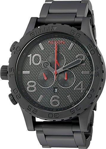 Nixon Unisex 51-30 Chrono All Black/Stamped Watch 51chj7B7j L