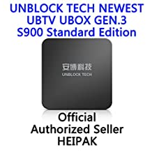 UNBLOCK Tech Newest gen.3 S900 standard editon limited editon Overseas Smart TV Box Chinese Channel UBOX Android 4.4 Interne IPTV Box, 4 Core CPU 8GB 4K Streaming Media Player 安博三代盒子限量版