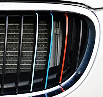Amazoncom Grille Stripe Decals For BMW Kidney Grills - Bmw grille stripe decals