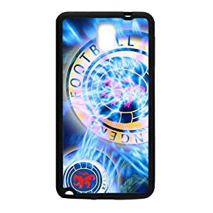 SKULL Shiny blue football club Cell Phone Case for Samsung Galaxy Note3