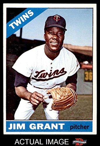 1966 Topps # 40 Mudcat Grant Minnesota Twins (Baseball Card) Dean's Cards 6 - EX/MT - Twins Minnesota 1966