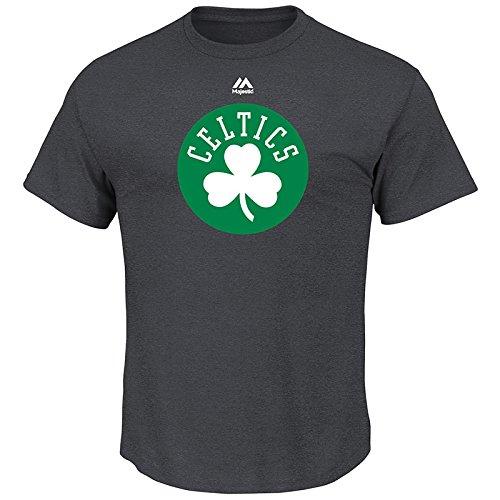 Mens Logo II Short Sleeve Crew Neck Tee – Boston Celtics – DiZiSports Store