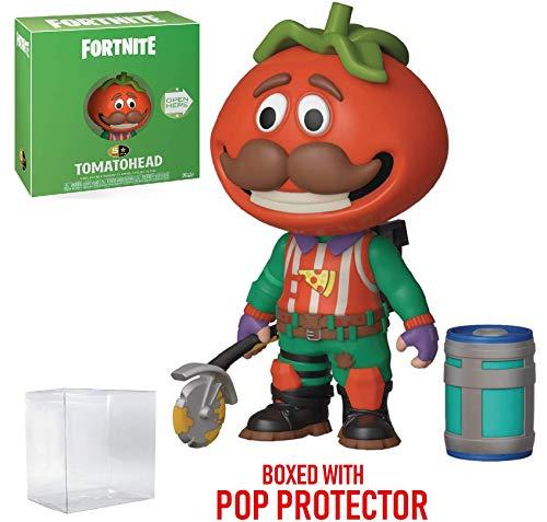 (Fortnite - Tomatohead Funko 5 Star Action Figure (Includes Compatible Pop Box Protector Case))