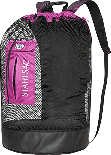 Stahlsac by Bare Bonaire Deluxe Mesh Wet/Dry Backpack (Bl...