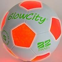 Light Up LED Soccer Ball - Uses 2 Hi-Bright LED Lights,...