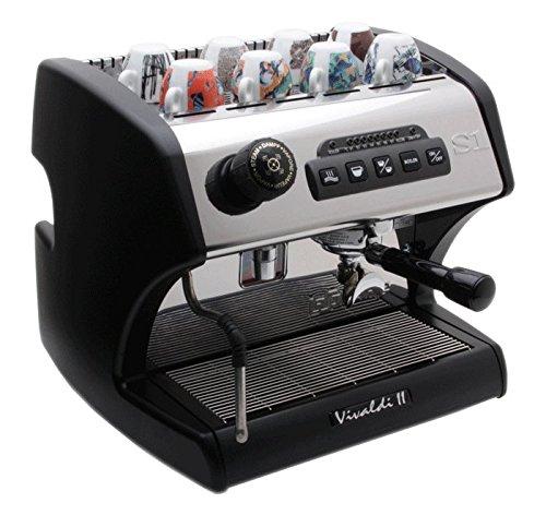La Spaziale Vivaldi II Dual Boiler BLACK Espresso Machine