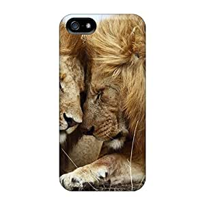 Waterdrop Snap-on Lions Pair Case For Iphone 5/5s