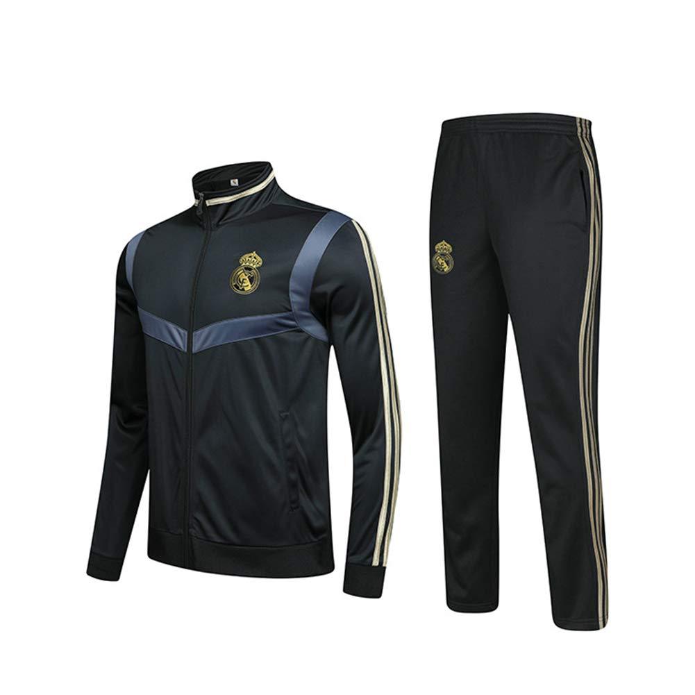 Real Madrid F.C - Sudadera de manga larga para hombre, diseño del ...