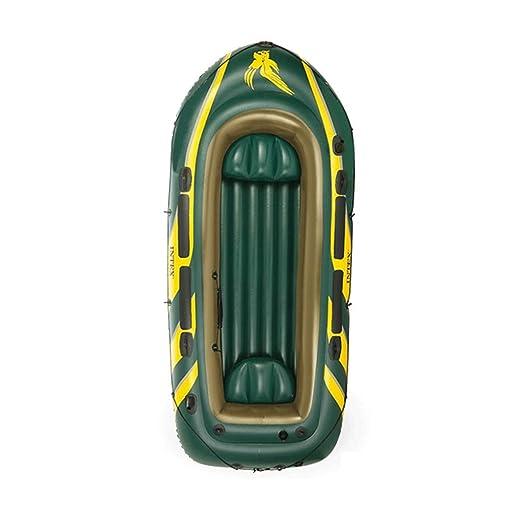 Silai - Barco neumático para Pesca con aireador para 4 Personas ...