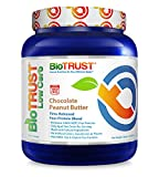 BioTrust Low Carb Grass Fed Whey Protein Powder | Keto Meal Replacement Shakes | Non GMO, Soy & Gluten Free, Hormone Antibiotic Free rBGH Free Easy to Digest, Chocolate Peanut Butter For Sale