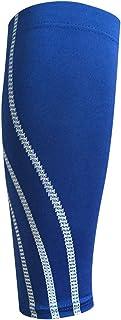 Manchons de Élastique/Compression graduée pour les femmes et les hommes, pour la course à pied Tibial jambe crampes,sans pied Chaussettes support Brace (1 pièce)