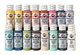 Delta Creative Ceramcoat Acrylic Paint Set in 16 (2-Ounce) Assorted Colors, PROMOADA3