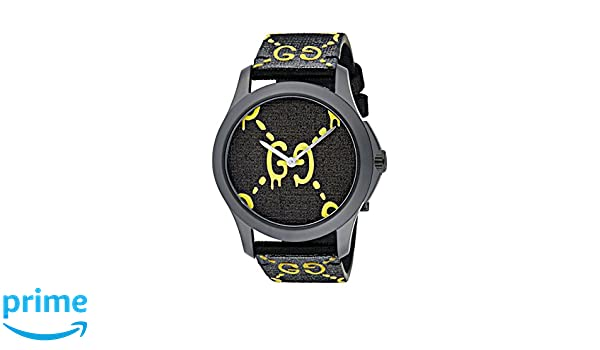 7c101681e6f Amazon.com  Gucci Timeless unisex watch 38mm YA1264019  Watches
