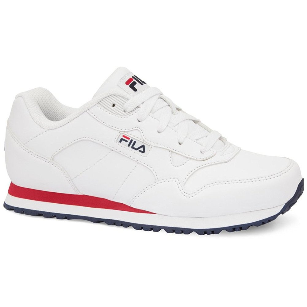 Fila Women's cress Athletic Sneakers, White Man-Made, Rubber, 7.5 M