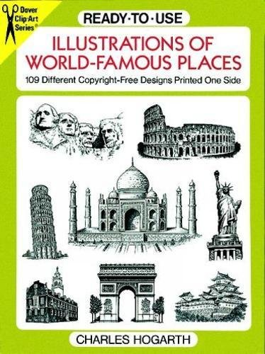 Free Clip (Ready-to-Use Illustrations of World-Famous Places: 109 Different Copyright-Free Designs Printed One Side (Dover Clip Art Ready-to-Use))