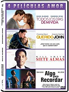 Pack 4 Peliculas De Amor: Querido John /Siete Almas / Algo Para Recordar / Todos Los Dias De Mi Vida - Qua DVD: Amazon.es: Varios, Channing Tatum, Will Smith, Meg Ryan, Rachel