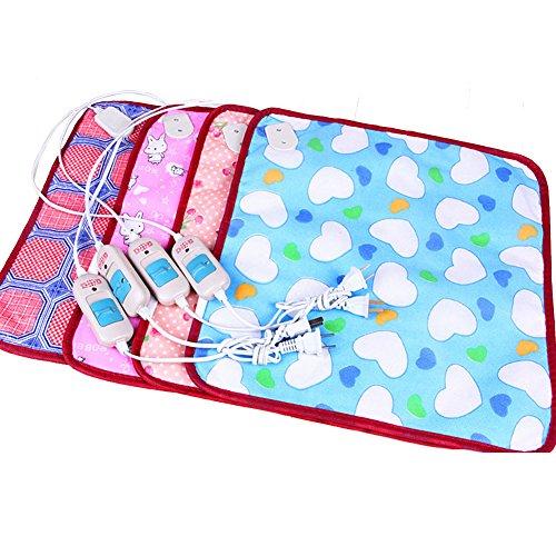 Dog Cat Bunny Heater Mat Blanket Bed 4040cm Electric Warm Heating Pet Waterproof Pet Puppy Warm Kitten Heat Pad US Plug -Pier 27