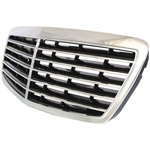 Diften 104-C1933-X01 - New Grille Grill Mercedes E Class Mercedes-Benz E320 E350 MB1200141 2118800583