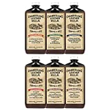 Leather Milk Complete Leather Care Kit. Leather Conditioner, Cleaner and Protector Set. No. 1 - 6 Full Set (6 Bottles!) - All Natural, Non-Toxic. Made in the USA. 2 Sizes. Includes 6 Applicator Pads!