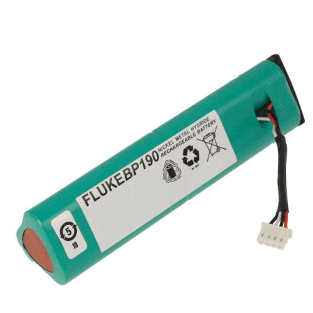 Fluke BP190 Rechargeable NiMH Battery Pack 3500 mAh Capacity 7.2V Voltage For ScopeMeter 190 and 190C series