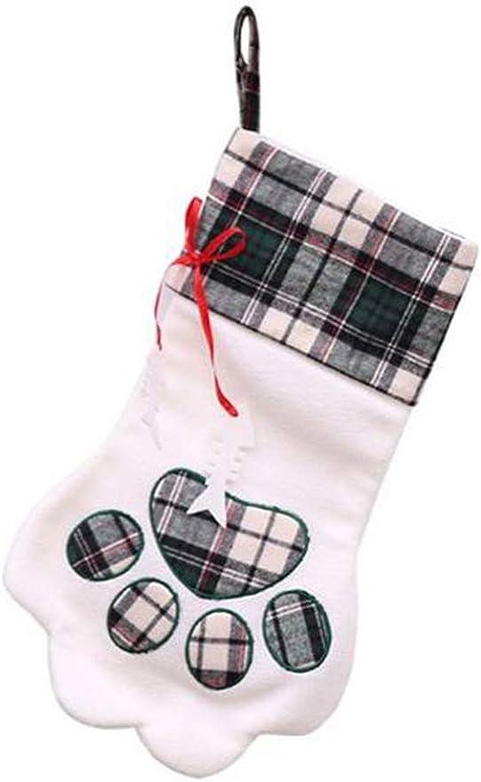Plaid - Bolsas de regalo de Navidad para mascotas, perros, gatos ...