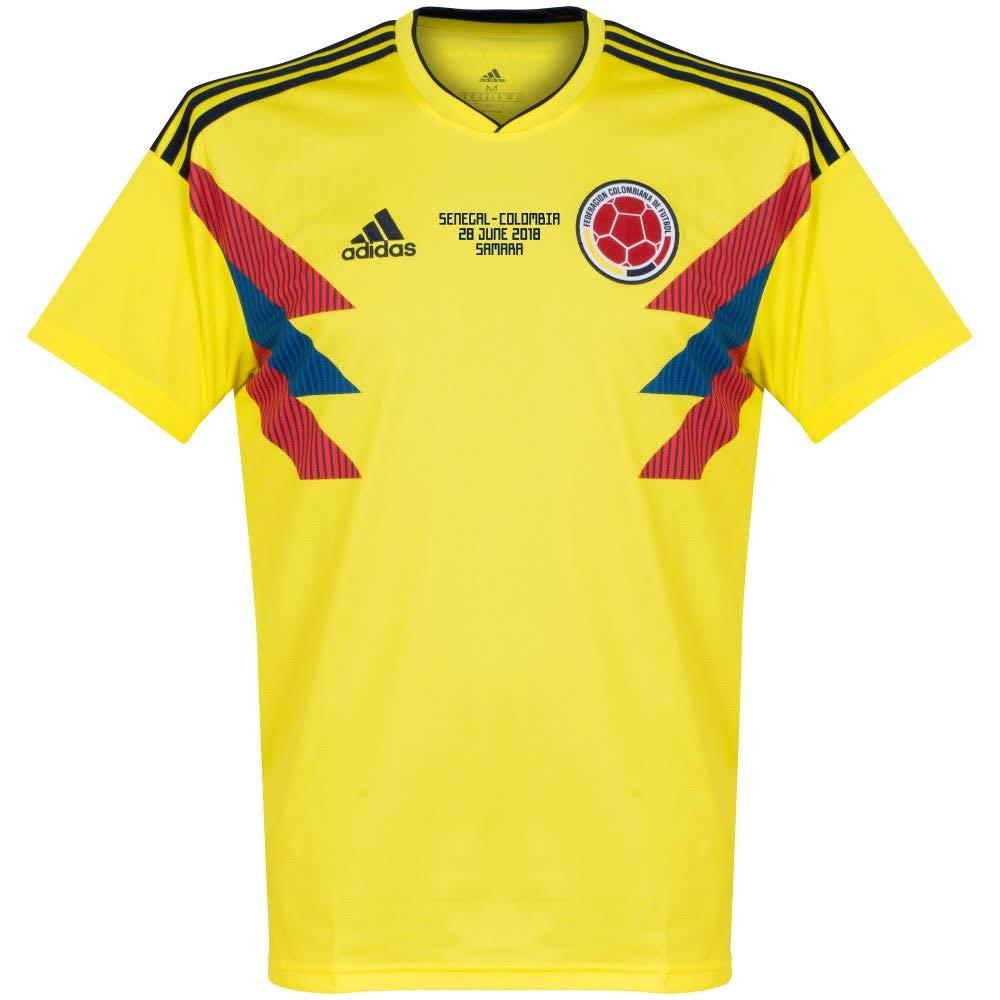 Kolumbien Home Trikot 2018 2019 inkl Kolumbien v Sengal Druck