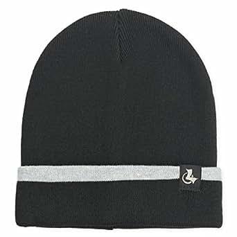 lethmik Merino Wool Cuff Beanie,Warm Winter Slouchy Hat Knit Skull Cap For Men & Women Black