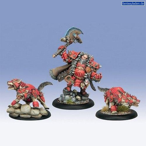 Privateer Press Khador - Orsus Zoktavir Model Kit (Warmachine Khador Butcher compare prices)