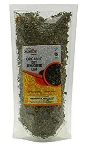 Organic Sunrise Natural Dry Fenugreek Leaf 1.76 Ounce -USDA Certified