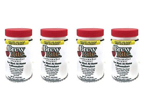 Brew Rite Coffee Maker Cleaner (1, 4-Pack (8 OZ.))
