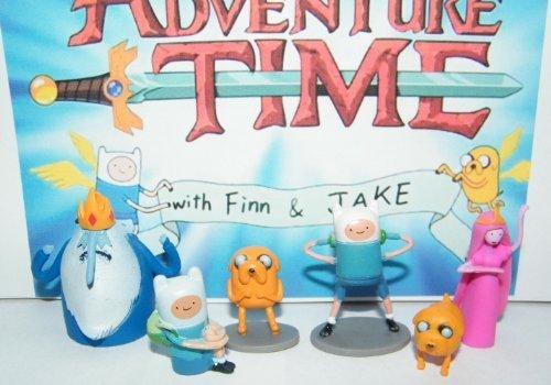 adventure time figure set - 6
