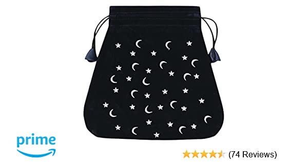 Moon and Stars Velvet Bag (Bolsas de Lo Scarabeo Tarot Bags ...