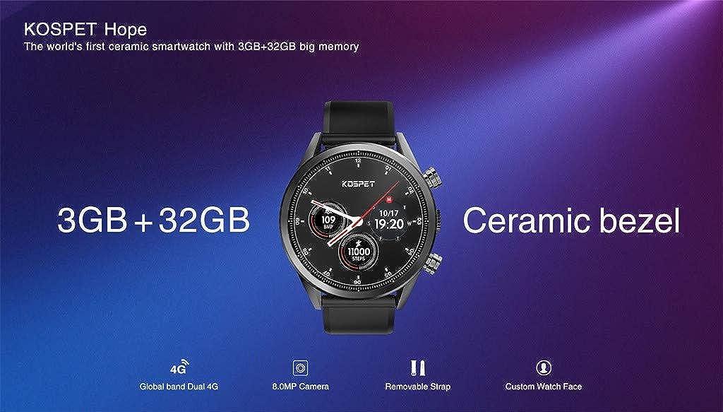 Moda 4G Reloj Inteligente Teléfono 1.39 Pulgadas Android 7.1 ...