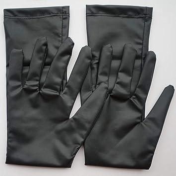 ARMWEQD Calentador De Brazos Shiny Long Glove Guantes De Punk Rock ...