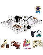 Machine de gravure laser, TOPQSC Routeur CNC CNC Kits Graveur Laser Marquage D'image de Logo D'imprimante de DIY 170 * 200MM 2500MW