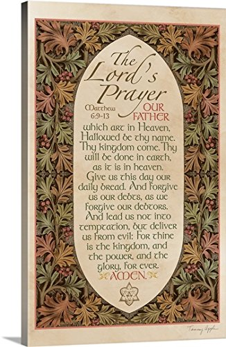 Tammy Apple Gallery-Wrapped Canvas entitled The Lord's Prayer