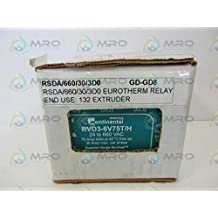 rvd3 6v75t h continental din rail three phase solid state relay