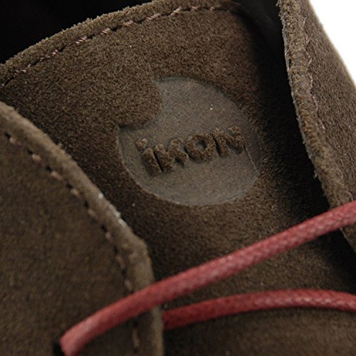 Ikon Gobi Mens Genuine Suede Lace Up Casual Desert Boots Sizes UK 6-12 Chocolate 1cYBf7dFOP